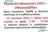 Płatności obszarowe 2021 - eWniosekPlus