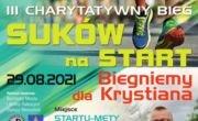 """III Charytatywny Bieg """"Suków na Start"""""""